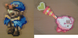 Kirby and Geno Perlers by Piranha2021