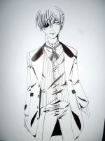 Ciel Phantomhive aged 22 by WhiteMacabre