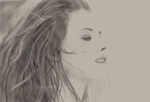 kristen stewart drawing by masochisticlove