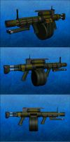 ULG-42 General Purpose machine gun by Raven-Gold