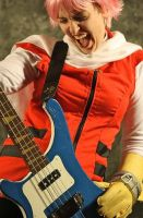 Haruko FLCL Saboten - rock out by Emmalyn