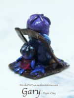 Gary-doll paper clay by MicehellWDomination