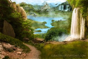 Elven valley by Lubov2001