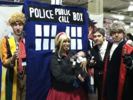 Rose Tyler and the Doctors by SiriusWho