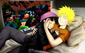 NaruHina teen love by 777luck777