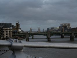 View from Millennium bridge. by MagicoffMusic
