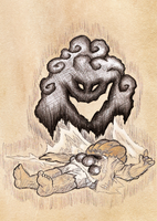 The Fate of a Deranged Dwarf by SketchyBailey