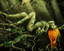 Poison Ivy1 by faye3d