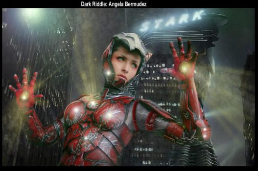 Pepper Pots Iron Woman by darkriddle1