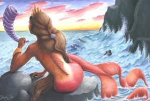 Mermaid by Kirstine