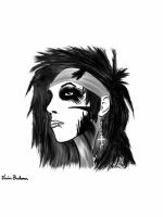 Andy Biersack of Black Veil Brides circa 2010 by SwagPants