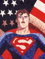TheyForgotToShave - Superman by Black85
