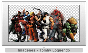 Pack Renders Street Fighter by TomhyLoquendo