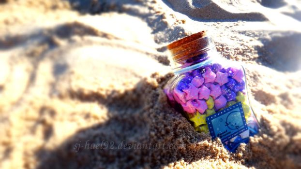 Shiny Stars in the Sand by sj-hael92