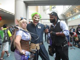 Gadget, Joker and Lord Blackwater by pa68