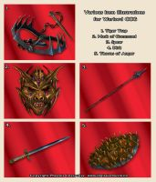 Items 01 - Warlord  CCG by Shockbolt
