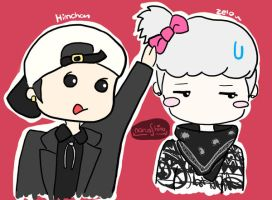 Zelo is cute~ by NarussHina