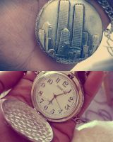 Twin_Towers_Hand_Watch by BurningFire101