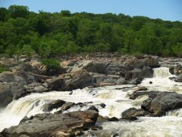 Great Falls of the Potomac 46 by Dracoart-Stock