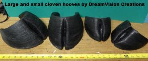 Cloven Hoof Comparison by DreamVisionCreations