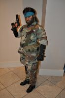 Naked Snake - Full Body by SnowBunnyStudios