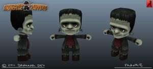 Monster of Puppets: Frankie Modelsheet by doms3d