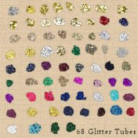 New PSP9 Glitter Test Tubes by ReZZyN