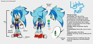 Lighty reference sheet by Emerl-lad12