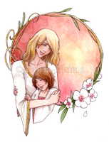 :COM: Mother and Daughter by Doria-Plume