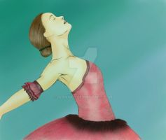 Ballerina colored 2 by IvanaKC