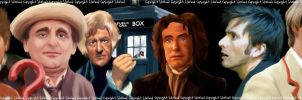 10 Doctor Who's by SJWood