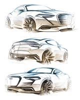 Audi Sketches by LoccoRico