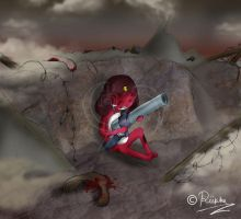 Soldier's Pain by Selene-Eclipse