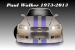 Paul Walker Tribute Art by Texapache