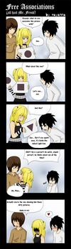 Death Note: Free associations by mayanna