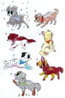 Adorable Adoptables!! OPEN!!! by sheikahninja44