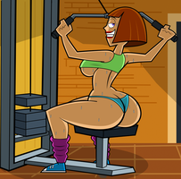 Mother's Day: Maddie Sexy Workout by grimphantom