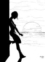 Girl Silhouette by Deviator77