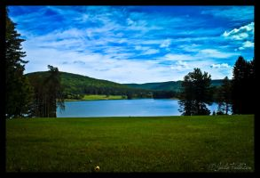 Lake Side by FallesenPhotography
