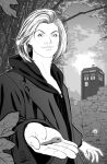 THE THIRTEENTH DOCTOR (inks) by JOSERODRIGUEZMOTA