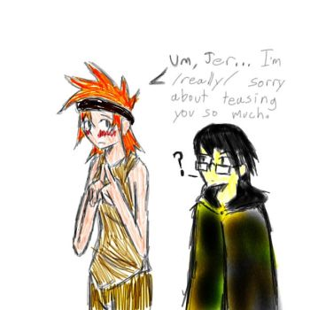 Tal and Jer discuss Feelings in General by Dreamaniacal