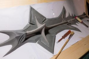Mace of Molag Bal - WIP by Folkenstal