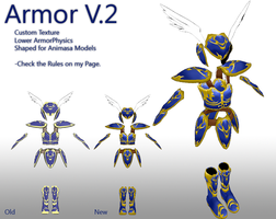 MMD- Armor.2 UPDATE -DL by MMDFakewings18