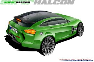 Quimera Super Halcon - Green by MDominy