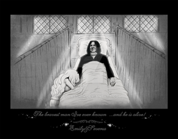 Emily+Severus-The bravest man by RedPassion