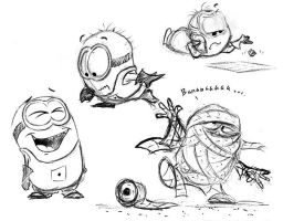 Minions - 15 by Mitch-el