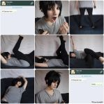 WHEN YOUR CRUSH TEXTS YOU FIRST - Sasuke by Hinata-chaan