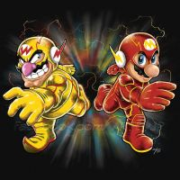 Super Flashy Rivals by jpzilla