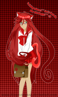 Grell in Seifuku by kinga-saiyans