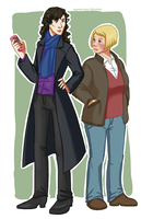 +the detective and her blogger by against-stars